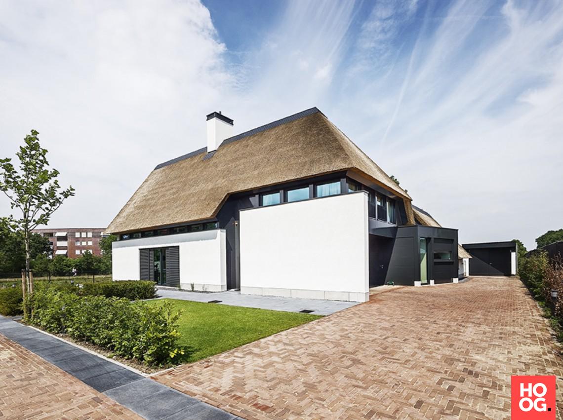 Van dinther bouwbedrijf landelijk modern huis hoog □ exclusieve