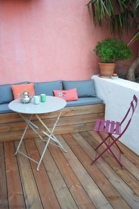 Relooking  une terrasse en bois à Marseille / Les photos avant et - Prix D Une Terrasse En Bois
