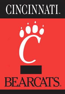 cincinnati bearcats c claw logo poster banner available at www