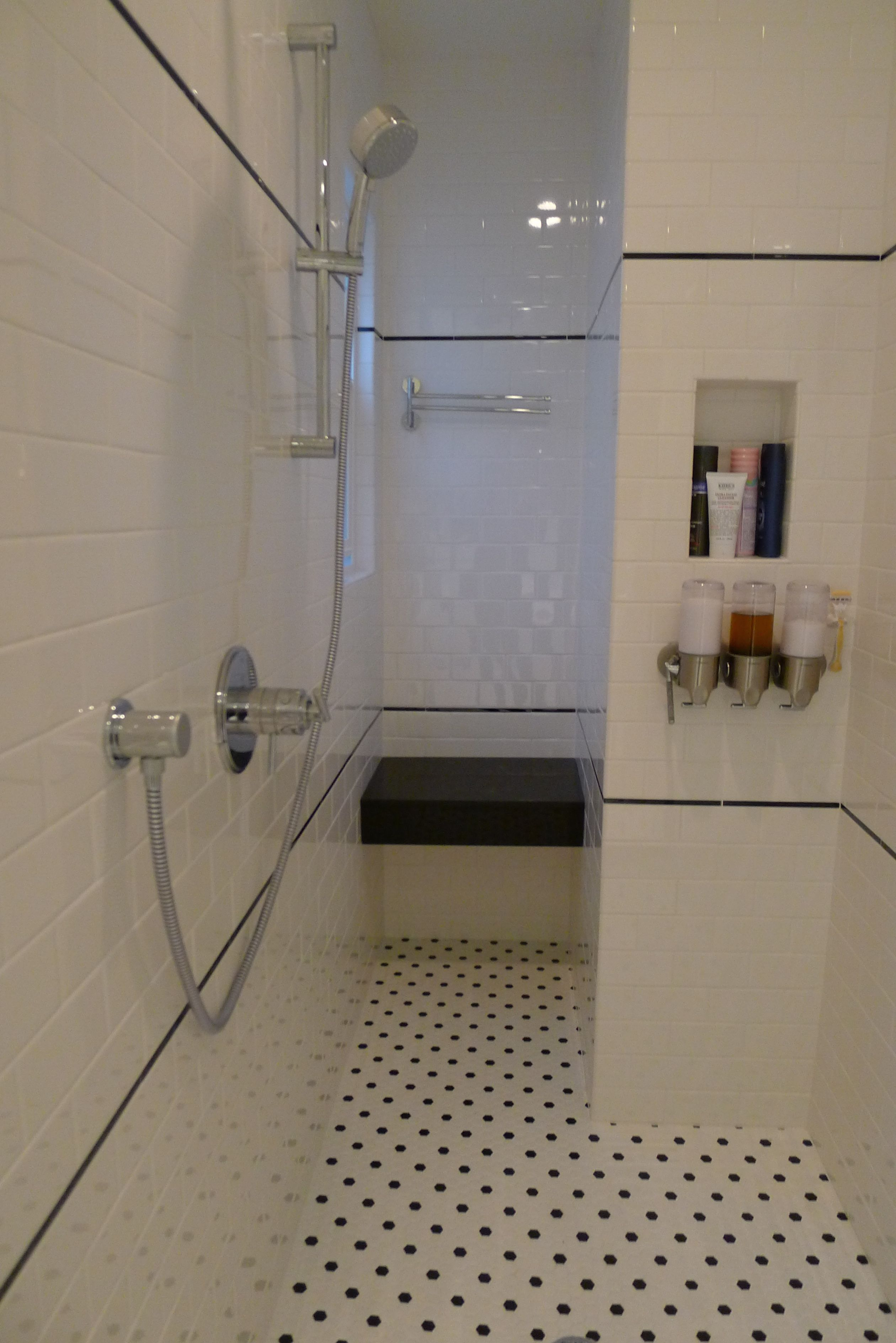 Done bathroom. Toto toilet, subway tiles, and my Banksy. | Master ...