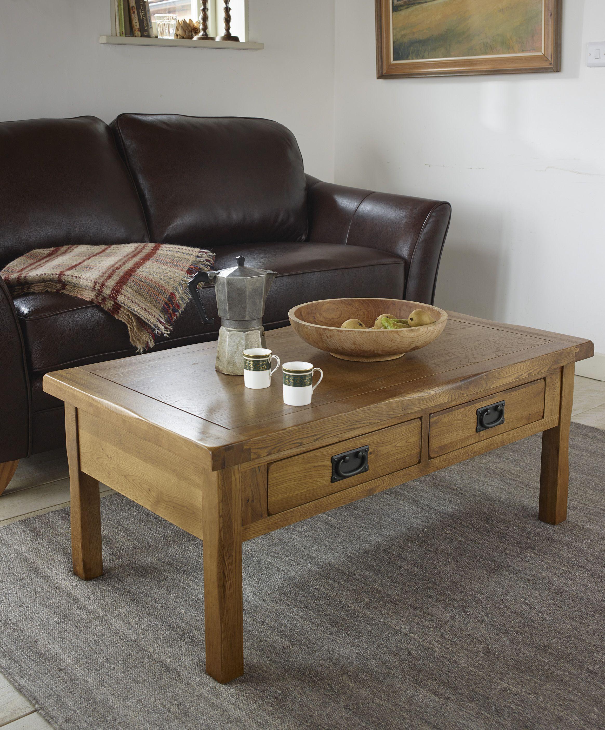 Rustic Coffee Table In 100 Solid Oak Oak Furnitureland Rustic Coffee Table Sets Coffee Table Rustic Coffee Tables [ 2810 x 2329 Pixel ]