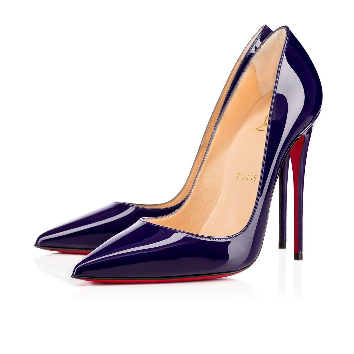So Kate 120 Purple Pop Patent Women Shoes Christian
