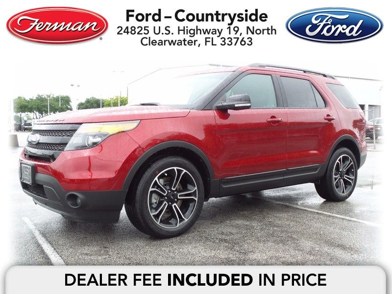 New 2015 Ford Explorer For Sale Clearwater FL Ford