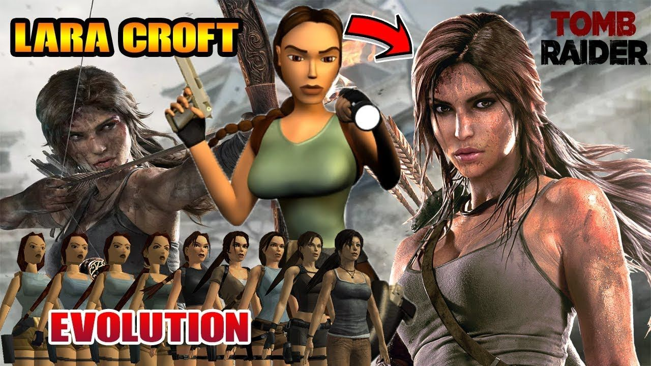 Tomb Raider Lara Croft Evolution 1996 2015 Real Style With