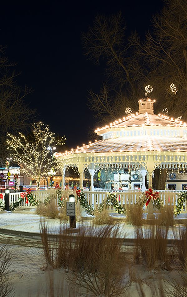 Holiday lighting in Denver, CO. HolidayLighting