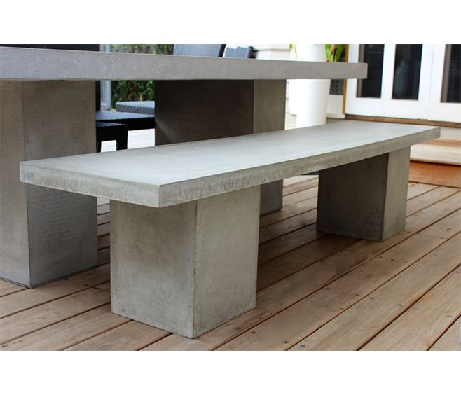 Delightful Carica Concrete Bench For Outdoor Dining | Available From WaterGarden  Warehouse | Osborne Park Showroom | Part 23