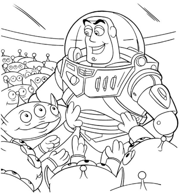 Toy Story Rc Coloring Pages Designs Collections
