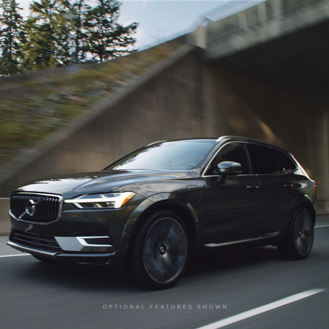 The 2019 Volvo #XC60. Proof That Endorphins Don't Just