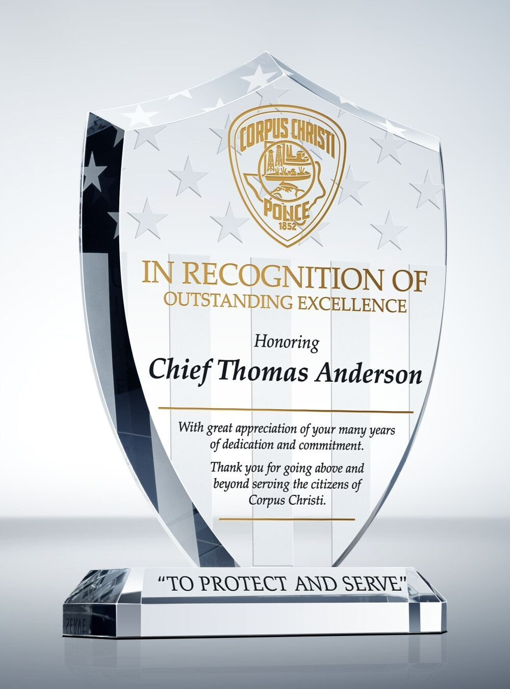 Unique Police Recognition Plaques And Sample Wordings Recognition Plaques Plaque Police