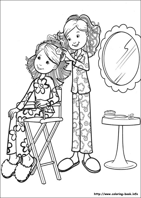 Groovy Girl Coloring Pages