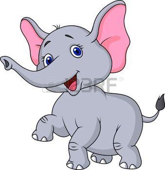 Slon 3a Slon Karikatura Tanec Sloni Pinterest Elephant Baby