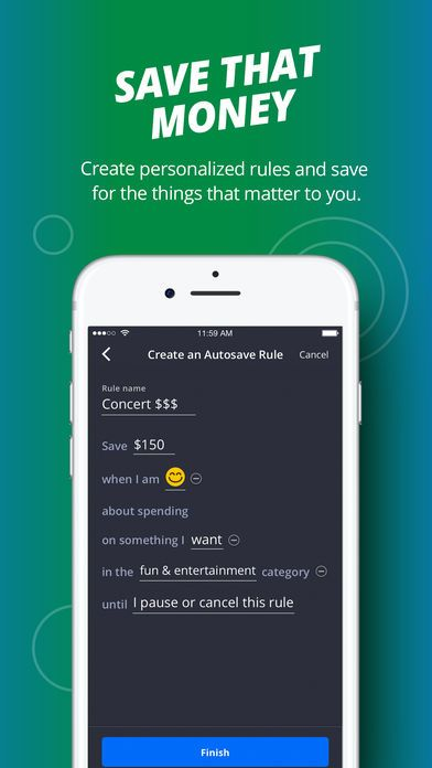 Finn by Chase by JPMorgan Chase & Co  | app design | App design