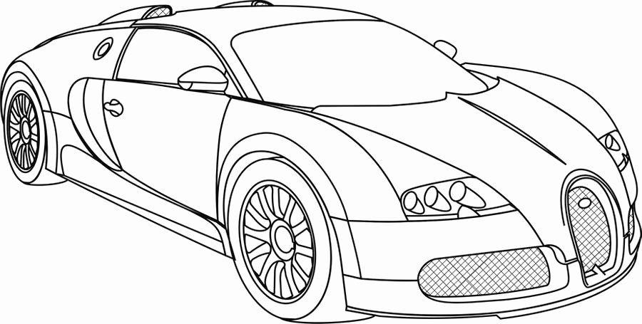 Download Bugatti Chiron Coloring Page Lovely Bugatti ...