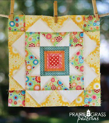 Free pattern: Summer Star block at GenQ · Quilting | CraftGossip.com