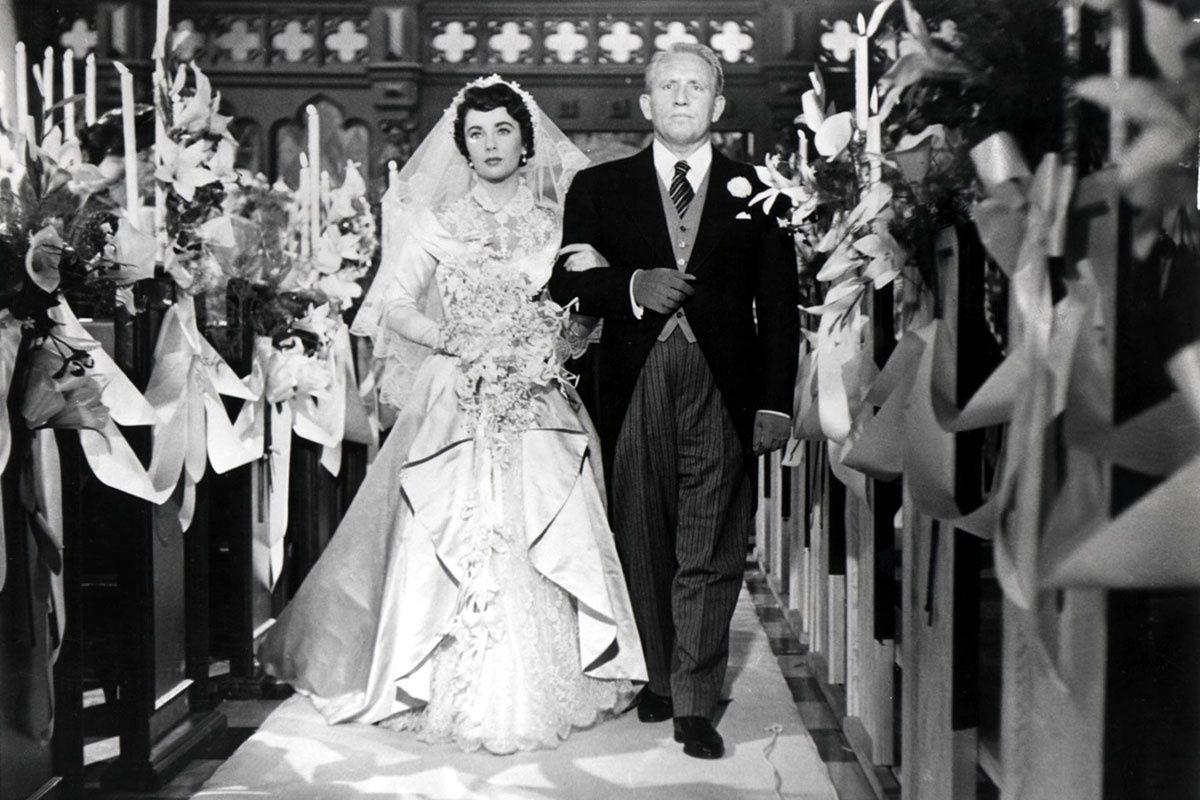 Elizabeth Taylor. El padre de la novia Wedding movies