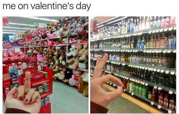 Funny Valentines Day Memes Memes De Relacion Humor En Espanol Memes De Solteras