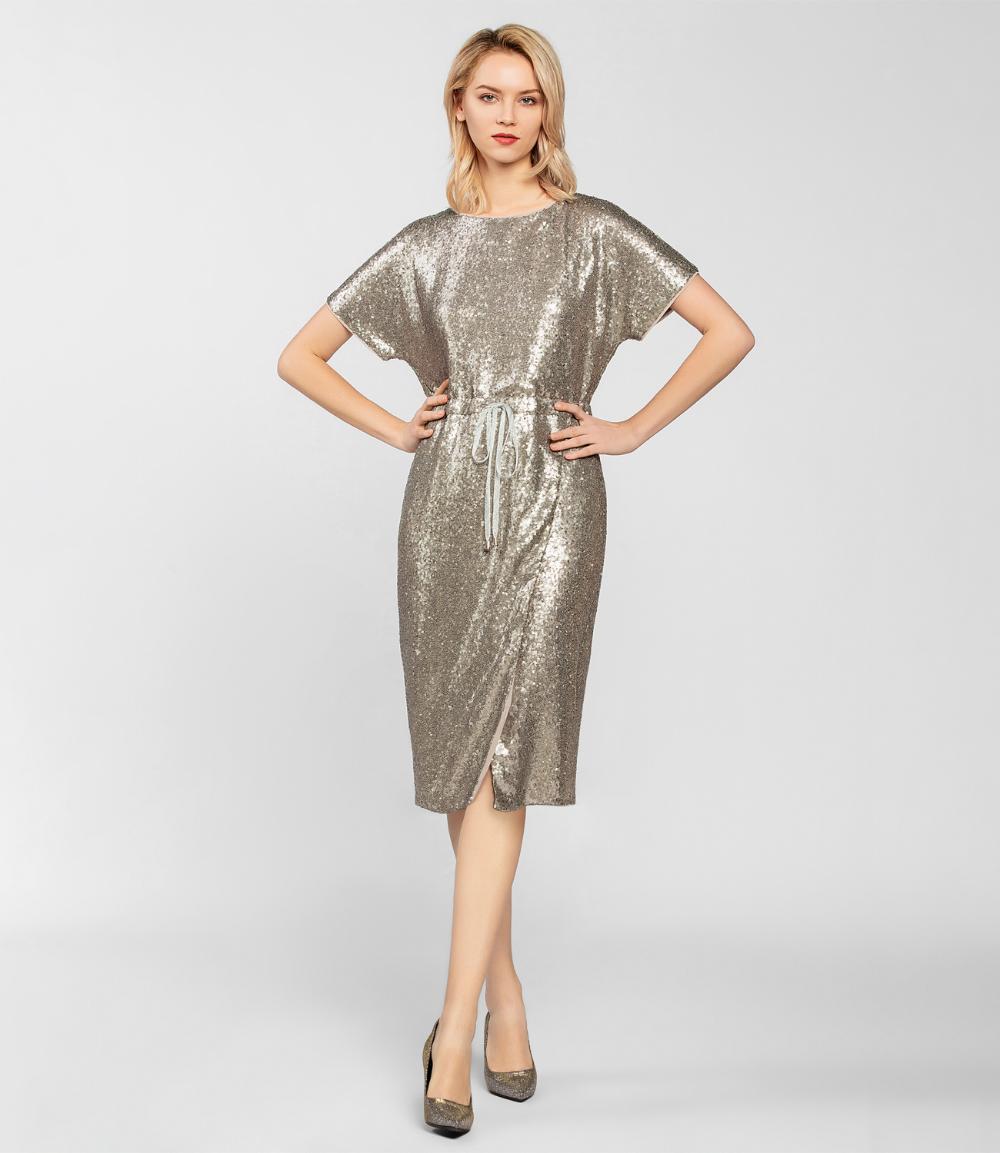 Paillettenkleid in 14  Paillettenkleid, Pailletten kleid, Modestil