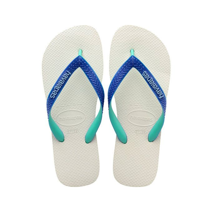 4d9f973031ba71 HAVAIANAS TOP MIX - White   Marine Blue