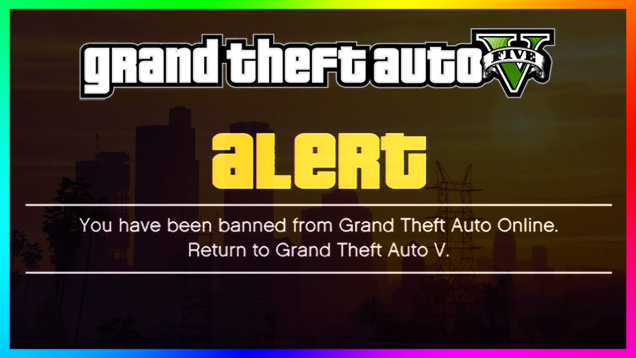 GTA 5 Online - DID YOU GET BANNED!? - New Huge Ban Wave