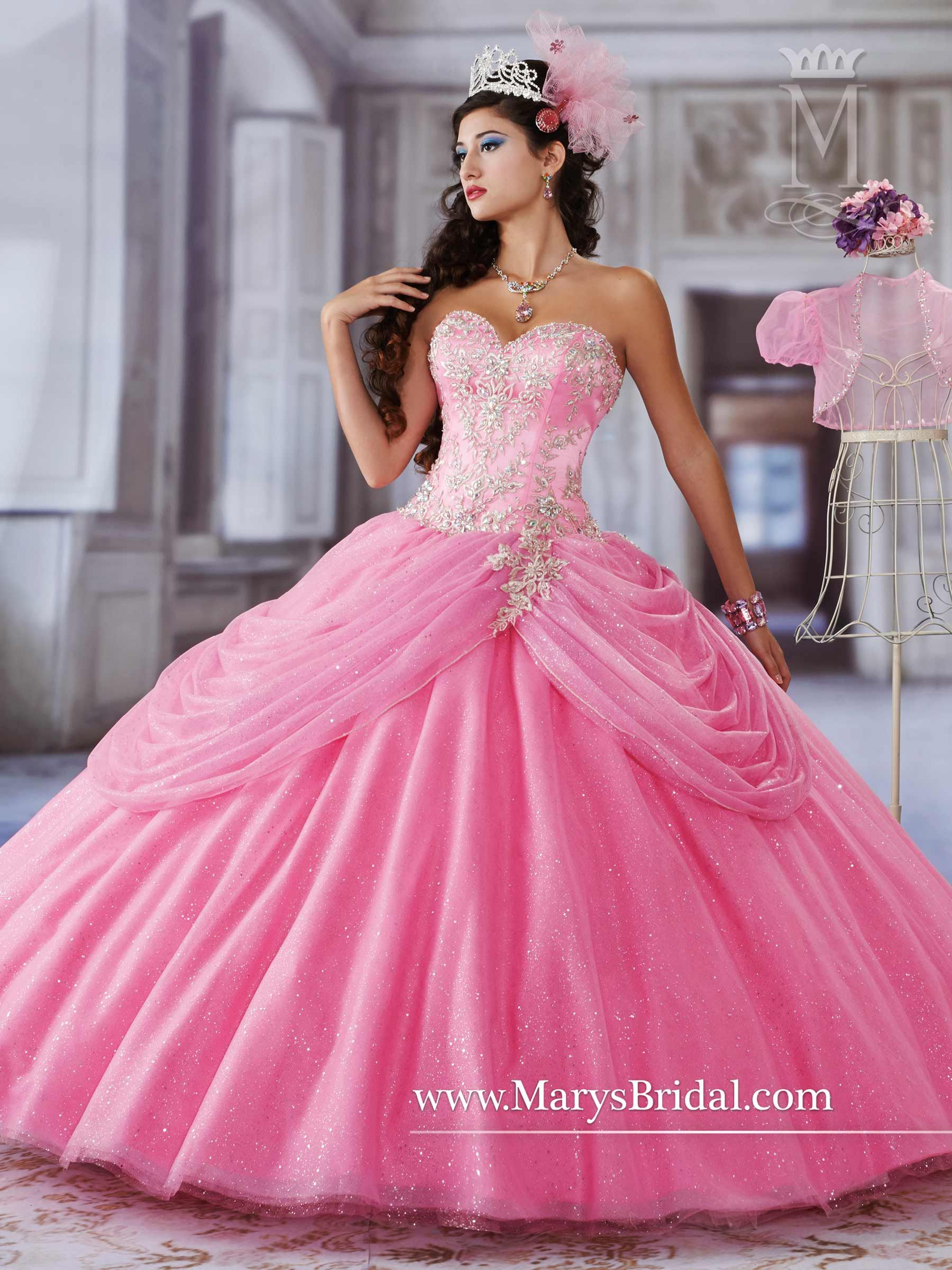 87ccae53be0 Mary s Princess collection of Quinceanera dresses