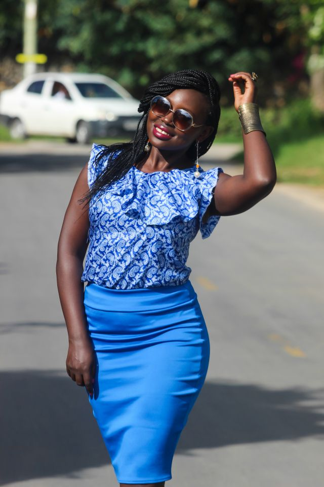 By Maureen Bandari, a Kenyan fashion blogger and fashion writer. She loves to play with colour, fabric, trends and prints.