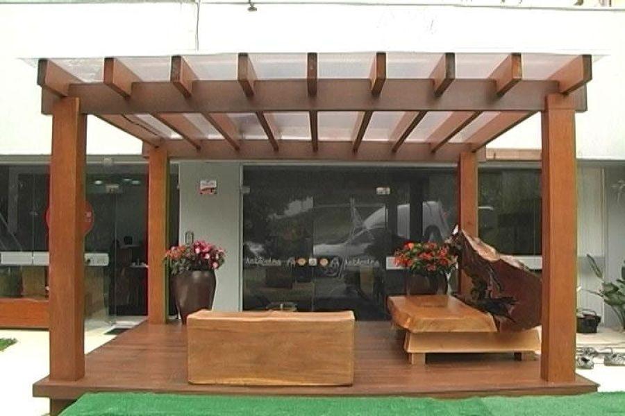 Fornecer e instalar pergolado madeira 3x5m bras lia for Instalar piscina precios