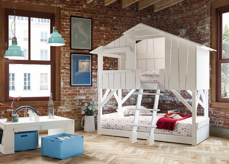 buy children's treehouse bunk bedmathybols at mood   kids