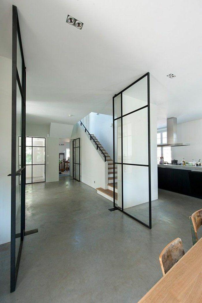 53 photos pour trouver la meilleure cloison amovible home pinterest t ren haus und. Black Bedroom Furniture Sets. Home Design Ideas