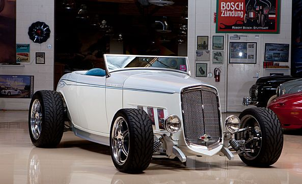 Jay Leno S Garage 1932 Bowtie Deuce Roadster Photo Gallery