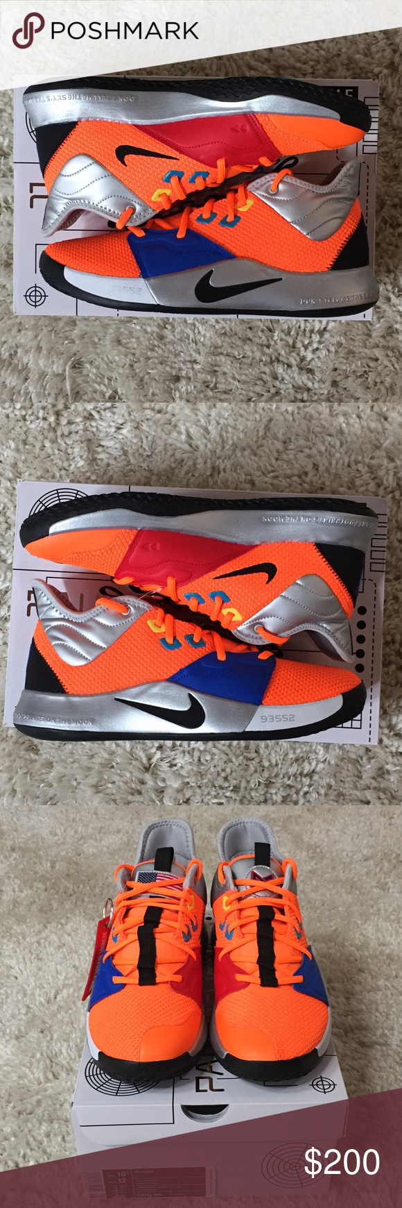 Nike X NASA Paul George PG 3 CL2666-800 11 93552 Selling a Brand New ... 7aa948dcb