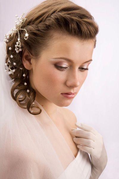 Image for Coiffure mariée Cheveux courts ou mi long