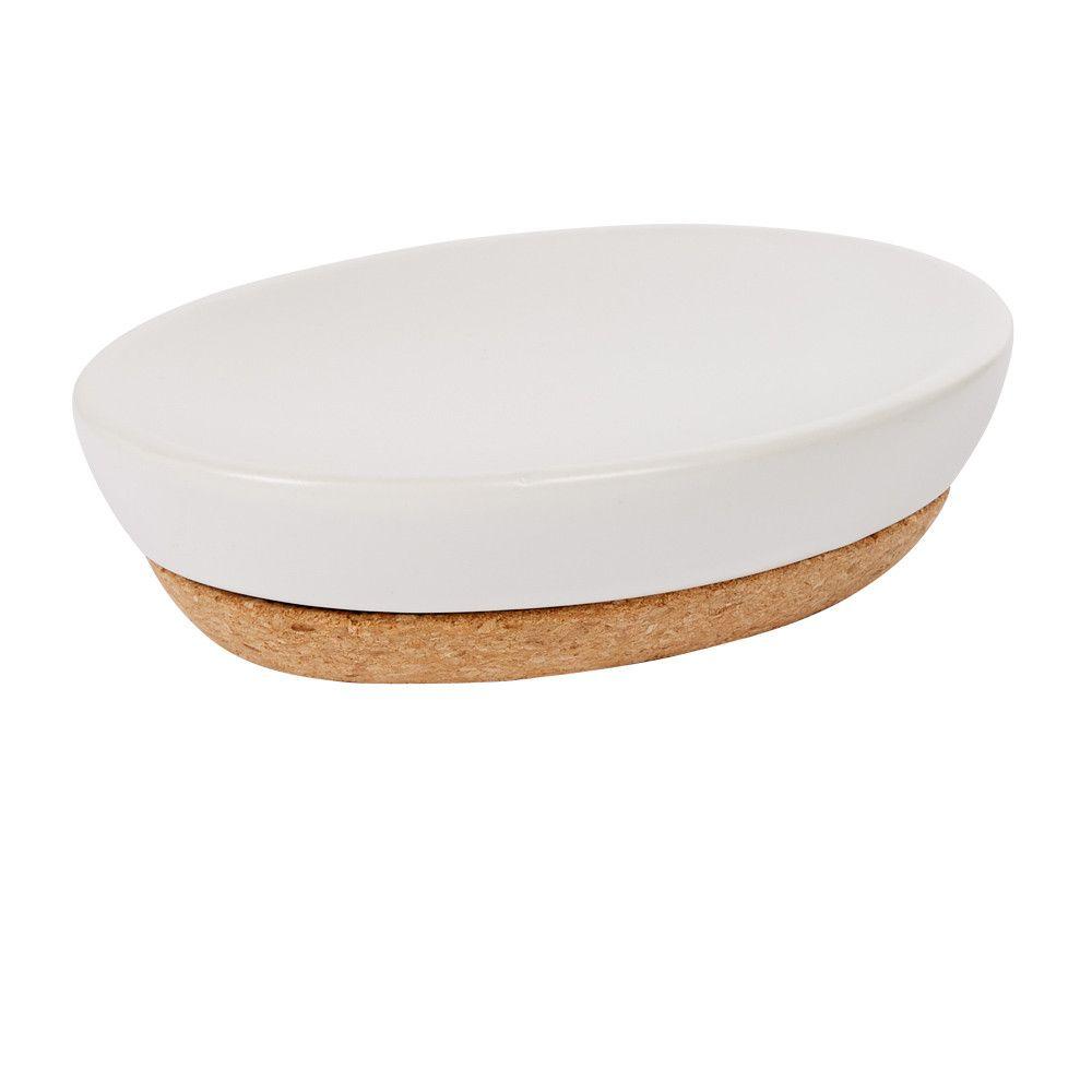 Accessoires Salle De Bain Gifi ~ accessoire de salle de bain porte savon blanc li ge naturel par