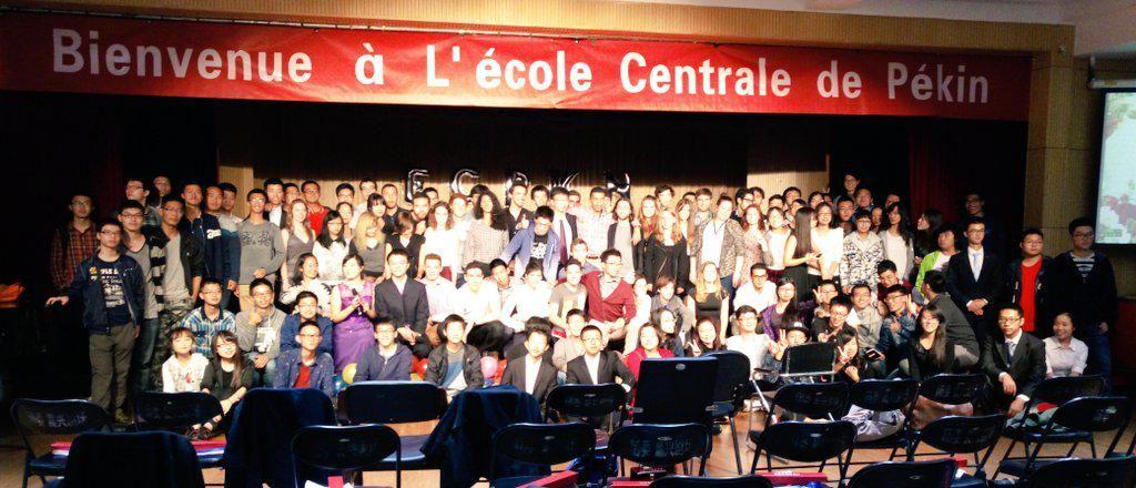 Les Etudiants Reunis Des 2 Ecoles Lycee Saint Louis Ecole Lycee