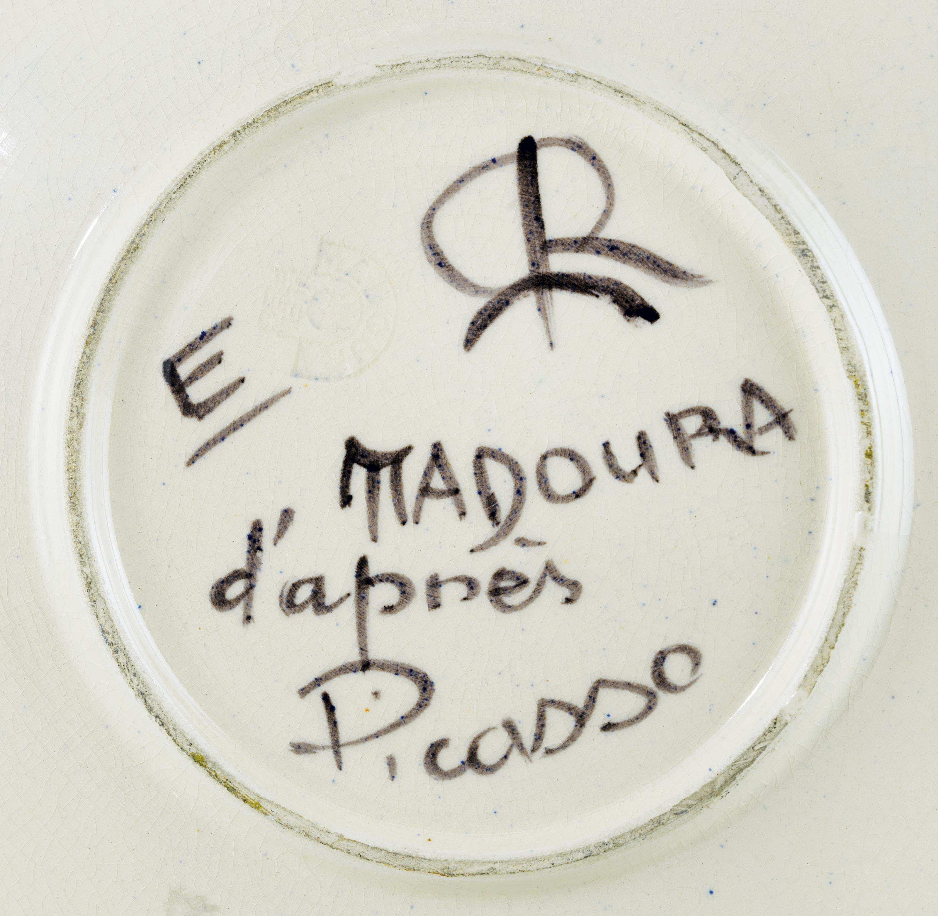 1d15c562246 PABLO PICASSO (1881-1973)Service visage noir (A.R. 40)stamped and