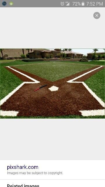 Backyard Baseball Field Backyard Baseball, Backyard Sports, Baseball Field,  Baseball Stuff, Sports