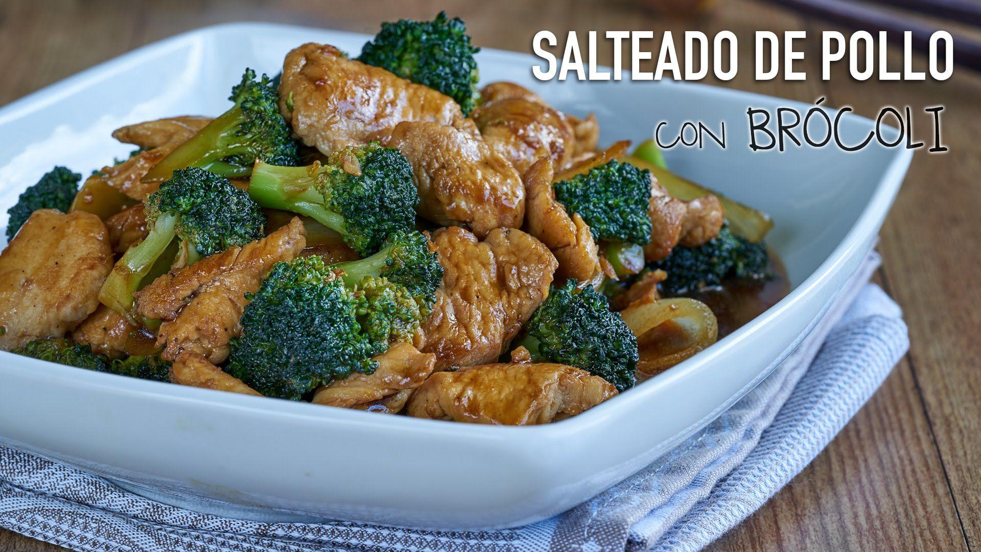 Salteado de pollo con brcoli chicken with broccoli stir fry salteado de pollo con brcoli chicken with broccoli stir fry recipe forumfinder Gallery