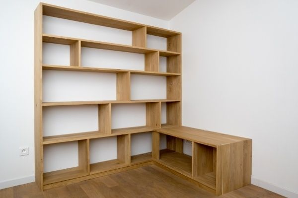 bibliotheque meuble tv d 39 angle par billbaroud le. Black Bedroom Furniture Sets. Home Design Ideas