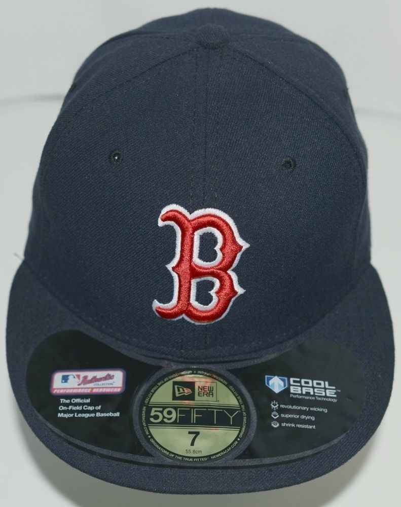 49a7513eccd8c New Era CA40289 Authentic Collection Boston Red Sox Baseball Cap Black Size  7 (eBay Link)