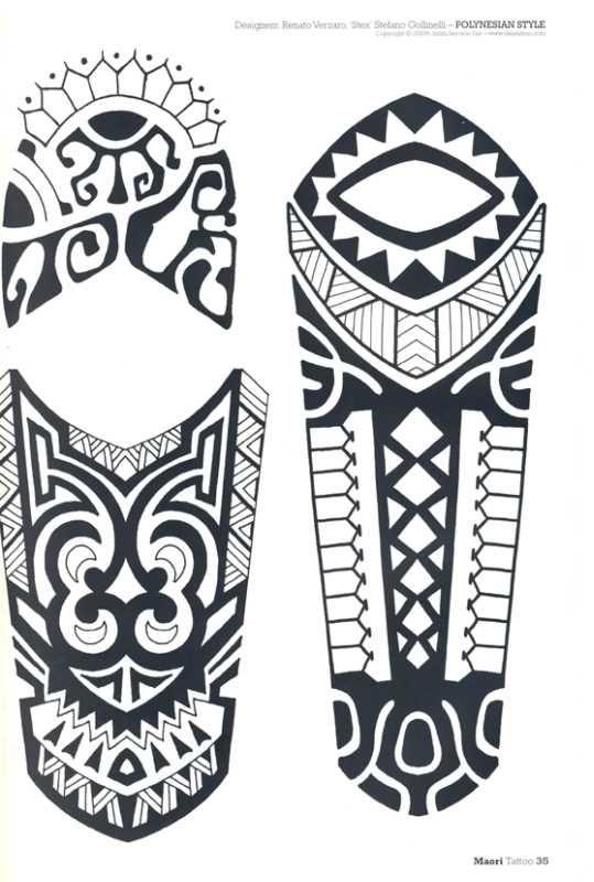 Maori Tattoo Designs Tattoo Vol 3 Maori Inhalt Text Des Magazins