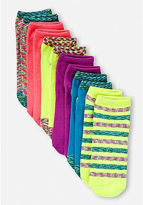 6 Pack Space Dye Socks