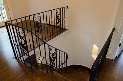 Wrought Iron Stair Rail Wrought Iron Stair Railing Iron Stair