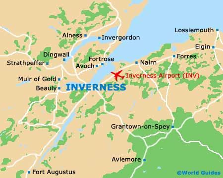 Inverness Scotland Map Wonders Of History Pinterest Inverness
