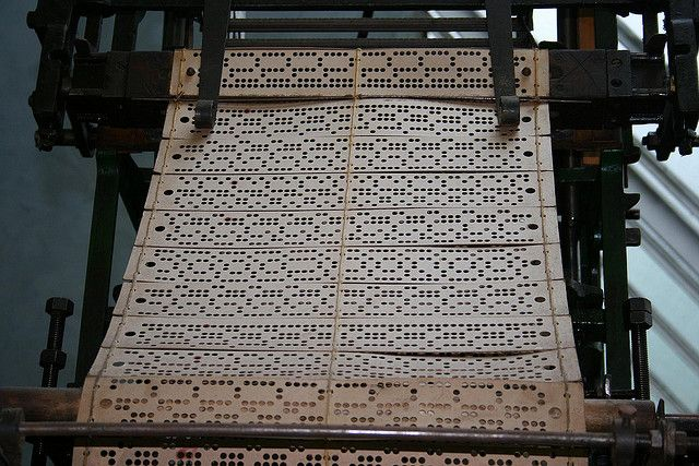 Pattern Cards of a Jacquard Loom | Industrious Notions