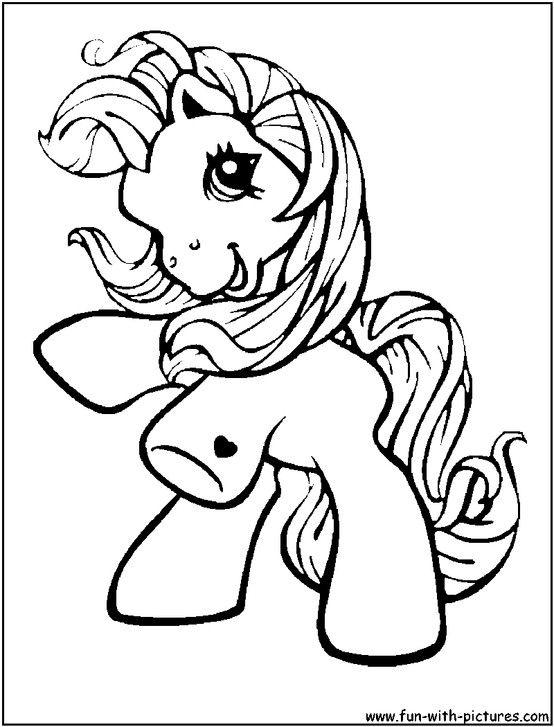 Mein Kleines Pony Malvorlagen My Little Pony Malvorlagen Kostenlos Zum Ausdrucken Ausmalbilder Kuda Poni Poni Kartun