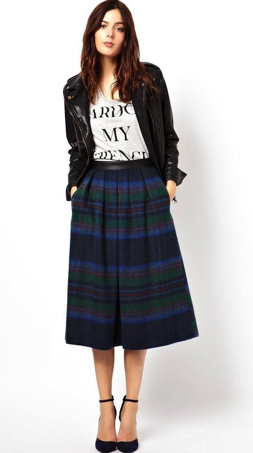 17 Best images about midi skirt on Pinterest | Full midi skirt ...
