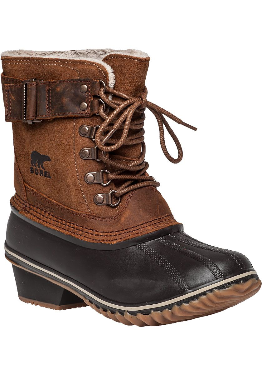 totes womens neve winter boots lace up