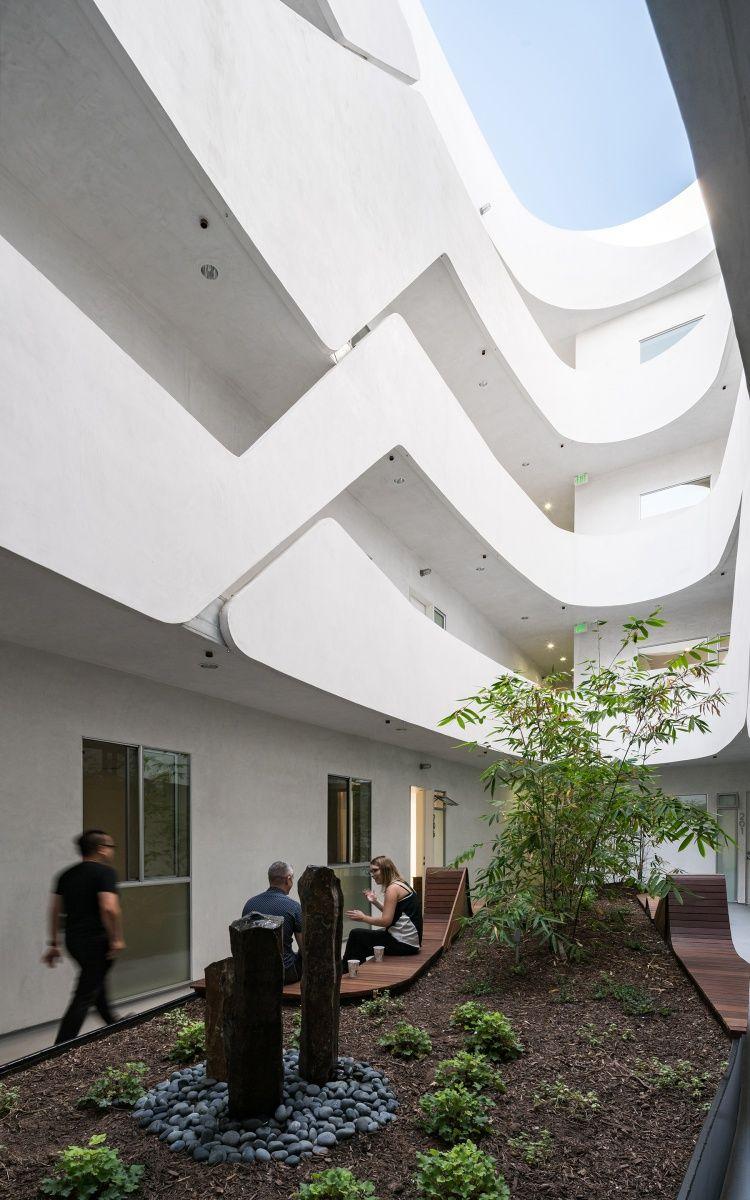 Mariposa 1038 Los Angeles, CA Architect, Courtyard