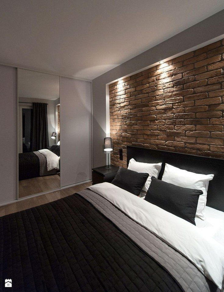 camera letto parete pietra - Cerca con Google Decoracion de casa