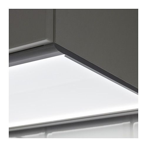 "F–RB""TTRA LED countertop light IKEA kitchen"