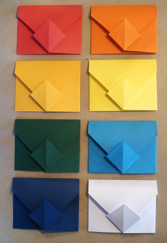 20 Custom Origami Envelopes Ideal For Flash By Transientbooks